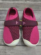 Plae Elise In Hot Pink Electric Fuchsia Size 9 Toddler