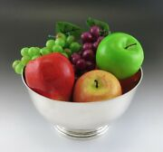Antique/vintage 1940s Stone Assoc American Revere Colonial Style Fruit Bowl 8
