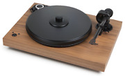 Pro-ject Xperience Sb Walnut Veneer Incl. Cover And Ortofon 6 7/12ft Silver
