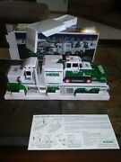 2013 Hess Toy Truck And Tractor - Mint In Box