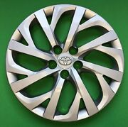16 Hubcap Wheelcover Fits 2017 2018 2019 Toyota Corolla
