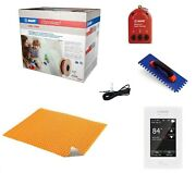 Mapei Mapeheat Floor Heating Kit With Membrane Thermostat And Heat Cable