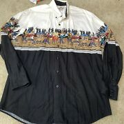 Vintage Looney Tunes 1994 By Karman Western Collection Size Menand039s Large
