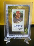 2021 Topps Juan Soto Through The Years Allenandginter Framed Replica Auto 59/70