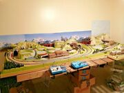 Noch Ho Layout 8.5 By 4 Feet With Kato N Scale Unitrack And 2 Mainline Design