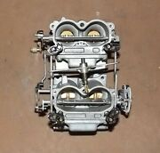 Johnson 85 Hp Carburetor Assembly Pn 0386510 Fits 1970-71 Cleaned