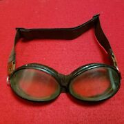 Ww2 Japanese Army Air Corps Glasses Goggles Rubber Part Replica Japan From Jp