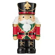 Battery Operated 18inch Decorative Christmas Nutcracker With Led Lights