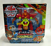 Bakugan Dragonoid Maximus 8in Lights And Sounds Transforming Figure