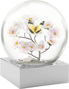 Coolsnowglobes Butterfly On Branch Cool Snow Globe