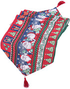 Christmas Table Runner Christmas Table Tapestry Santa Claus Table Decorations Di