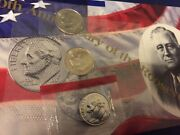 1996 P D + W Roosevelt Dime 3 Coins From Us Mint Set Bu Cellos Three Ten Cents