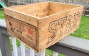 Vintage /antique Star Soap Wooden Crate Box Proctor And Gamble 21x15x 8