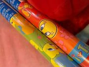 Rare 1997 Sealed Vintage Tweety Bird Wrapping Paper Lot Gift Wrap Looney Tunes