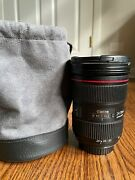 Canon 24-70mm F2.8 Ii L Lens Great Condition Bandw Filter Included.