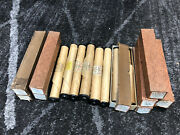Antique Lot Of 12 Early-mid Century Player Piano Rolls Qrs Vocalstyle And Supetone