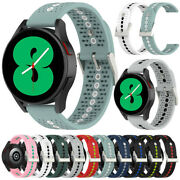 For Samsung Galaxy Watch 4 Classic 46mm Strap Band Silicone Gear S2 S3 Frontier