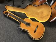 Ryoji Matsuoka M35 Classical Guitar Made In Japan 1970s-1980s Excellent W/ Case