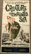 Creature From The Haunted Sea Original Three Sheet Movie Poster - 1961