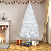 7ft Snow White Christmas Tree With 950 Branches Xmas Chirstmas Home Decorations
