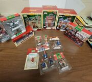 Lemax Christmas Village Buildings,figures/scenes Coventry Cove All New In Box