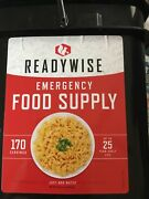 Wise Company - 170 Servings Survival Food Bucket Just Add Water
