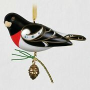 Hallmark 2021 Rose Breasted Grosbeak Repaint Koc Excl. Free Ship Sold Out