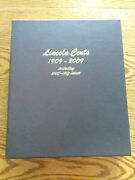 Dansco 8100 Lincoln Cents With Proofs 1909 - 2009 Partially Filled Album Mjb4