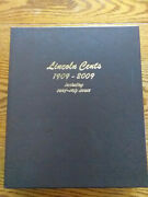 Dansco 8100 Lincoln Cents With Proofs 1909 - 2009 Partially Filled Album Mjb6
