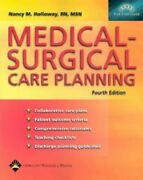 Medical-surgical Care Planning, Fourth Edition Holloway, Nancy Meyer