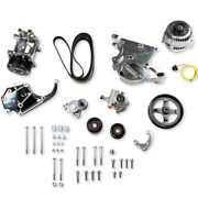 Holley 20-137p Complete Gm Ls Accessory Drive Kit Gm Ls-series Engines High Moun