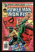 Power Man And Iron Fist 54 Vf- 7.5 1st Heroes For Hire