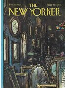 Cover Only The New Yorker Magazine February 10 1968 Getz Antique Shop