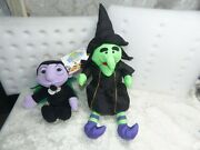Vintage 1997 Whitman's Witch And Sesame Street The Count By Int Silver And Tyco