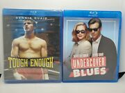 Tough Enough Oop Blu-ray New + Undercover Blues Like-new Dennis Quaid