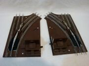 Lionel O27 Manual Switches Left And Right Hand Track 6-5021 6-5022