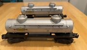 2 Lionel 2465 And 6465 Sunoco Tank Cars...exec Cond...