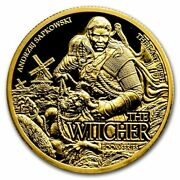 2021 Niue 1 Oz Gold The Witcher The Last Wish Proof - Sku237497