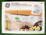 Ge General Electric Spacemaker Model 7-3590 Stereo Cd Player Am/fm Radio And Light