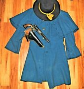 Awesome Fresh To Market Civil War Cavalry Great Coat