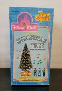 Disney Magic World Town Square Lighted Christmas Tree With Carrollers