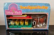 Vintage Disney World Town Square Trolley With Horse And Conductor 1988 60308