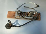 Rare Vintage Rca Mi-4975 Reproducing Filter Assembly Switch Knob For Tonearm
