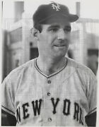 Danny O'connell - 1957 New York Giants - 8x10 Wirephoto