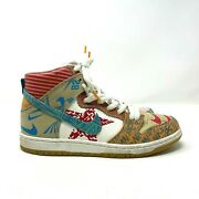 Nike Sb Dunk High Thomas Campell What The Dunk Sneakers 918321-381 Mens 8.5
