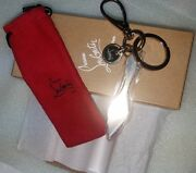 Rare Christian Louboutin Key Ring Chain Charm Exclusive Limited Vip Collectible