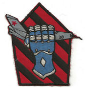 Japanese Made 1960and039s Large Usn Vf-43 Squadron Flight Jacket Patch Unused