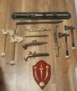 Very Nice Antique Vintag Swords / Weapon Collection From Grand Father Heritage