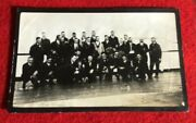 """1914 """"baseball World Tour"""" Team Photo With Grover Alexander Ray Chapman And Others"""