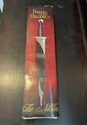 Dagger Of The Millenium Stainless Steel Collectible Blade / Sword With Scabbard